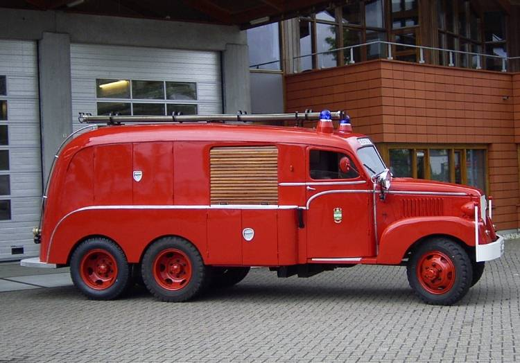 Bill Hood Ford >> Cool CCKW Fire Truck - The GMC CCKW